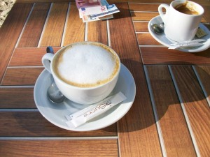 cafe culture in Barcelona