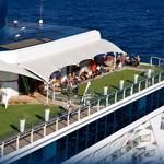 onboard lawn area