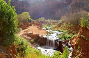 Havasupai Falls Canyon