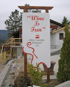 Dirty Laundry Winery in Summerland