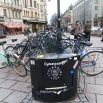 Public Cycle Pump in Stockholm