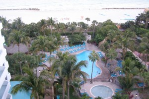 Pool at Riu South Beach