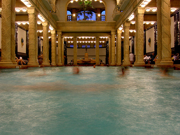 Gellért Bath - Photo credit: Takato Marui