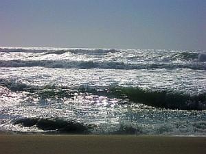 Oregon coast waves