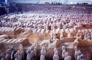 Terra Cotta Warriors at Xi'an