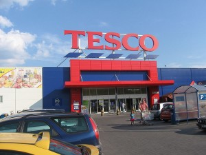 Tesco, store, shopping, shop, big box store, department store, Poland, Mielec, Polish, large corporation