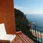 Views from rooms at Santa Marta