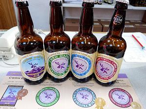 Purple Moose Brewery bottled ales