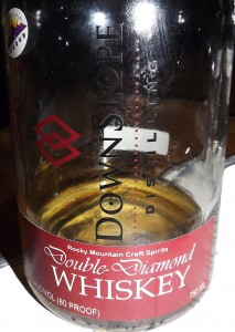 Double Diamond Whiskey from Downslope