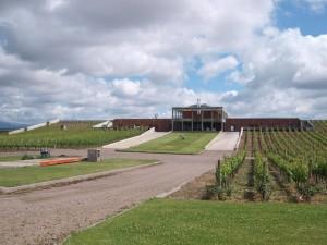 Clos de los Siete Main Winery Building