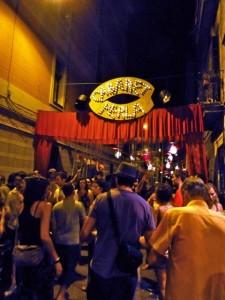 Street Scene - Festa Major de Gràcia