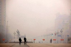 Air pollution reached dangerous levels in Beijing in early 2013.