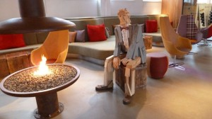 Lobby at Icelandair Hotel Reykjavik Marina