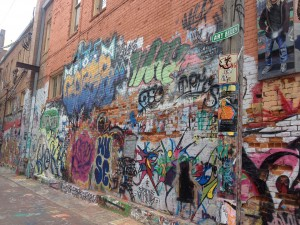 Art Alley in Downtown Rapid City