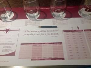 Wine Blending on MSC Divina