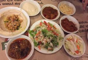 Food platters at Dr Shakshuka s