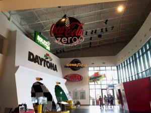 Inside Daytona Speedway