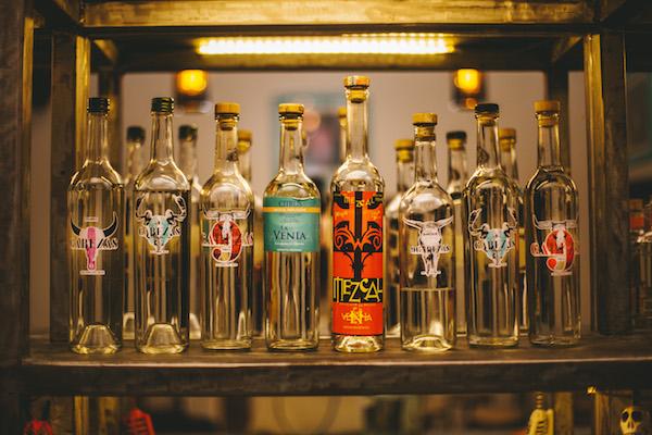 Mezcals at La Mezcalera (Credit: Tequila Restaurant)
