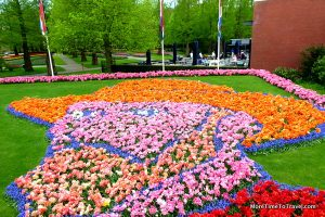 Mosaic flower Van Gogh