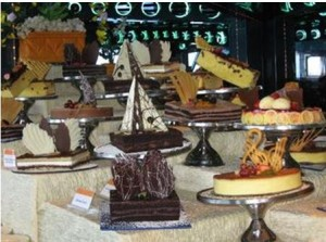 Dessert Table by Nadia Ali