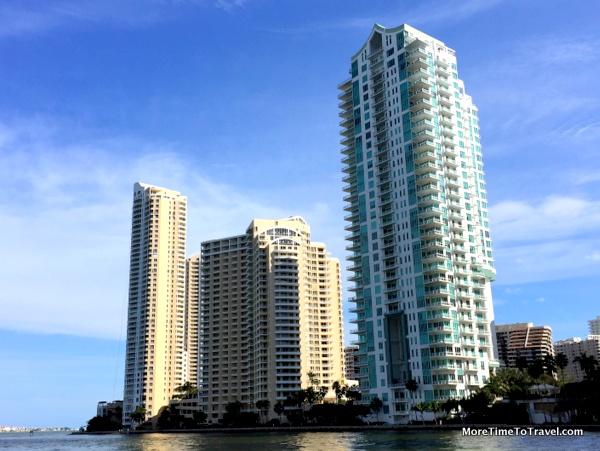 Modern skyscrapers in downtown Miami (Credit: Jerome Levine)