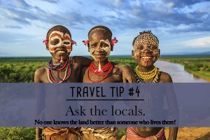 Reason to use a travel agent