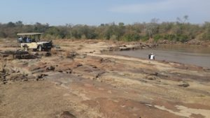 The perfect picnic spot by the Ruaha River