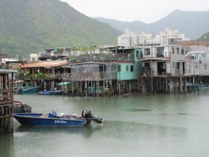 Stilt houses at Tai O fishing village