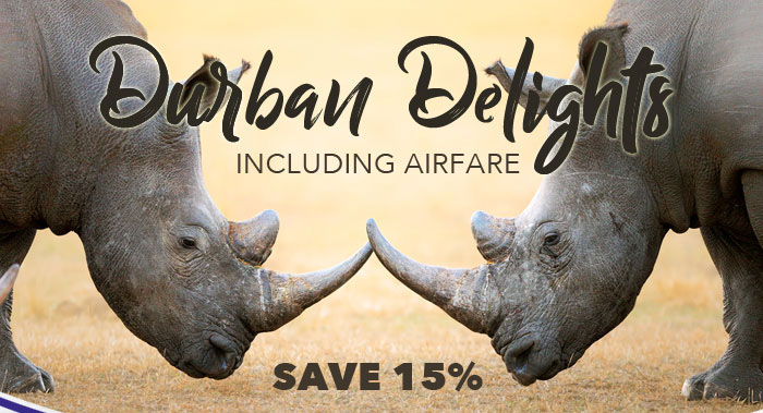 Learn more about: Durban Delights Including Airfare