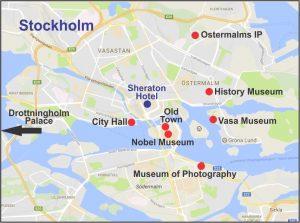 Stockholm Weekender Map