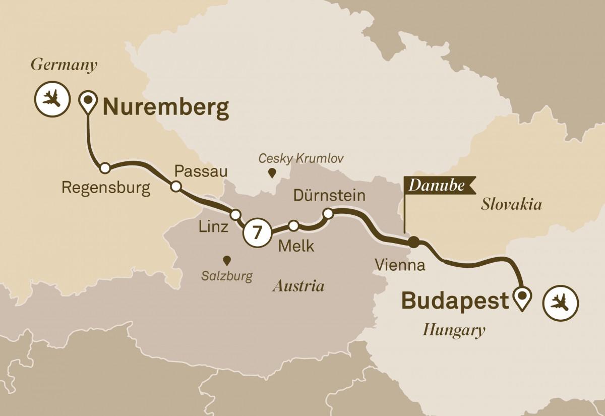 Nuremberg to Budapest