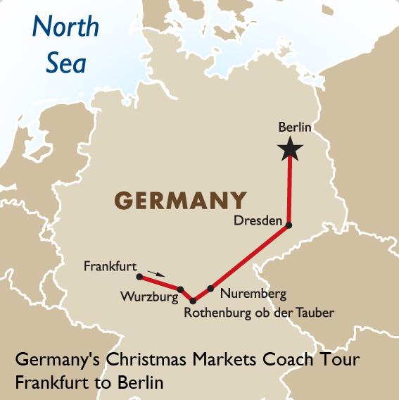 Germany Christmas Markets Coach Tour