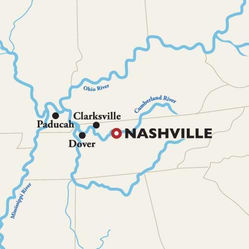 Nashville 7-day Map