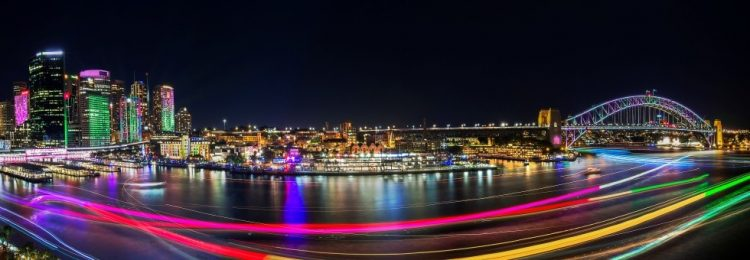 Learn more about: Light Up Sydney with Vivid Sydney