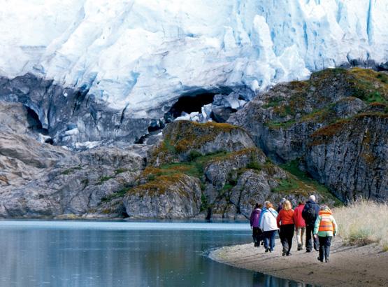 De Agostini Sound and Aguila Glacier