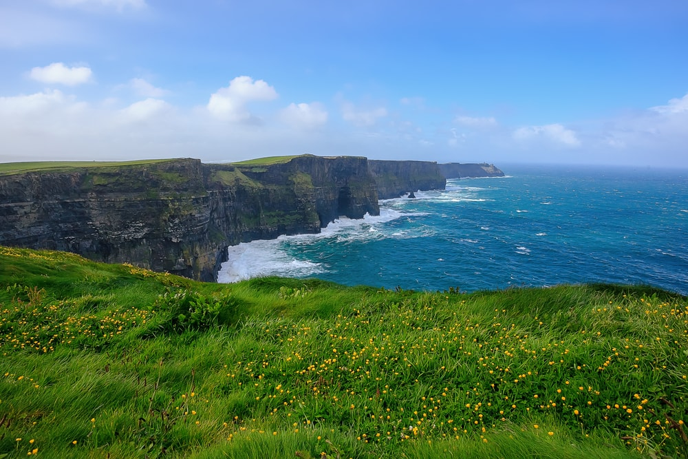 Cliffs of Mother - Irish Myths and Legends