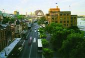 Sydney Rocks view of bridge