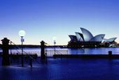 Sydney in blues