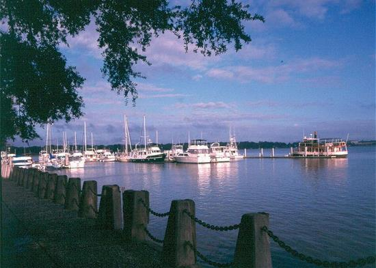 Beaufort SC waterfront