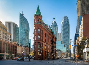 Toronto Cruise Flat Iron Building