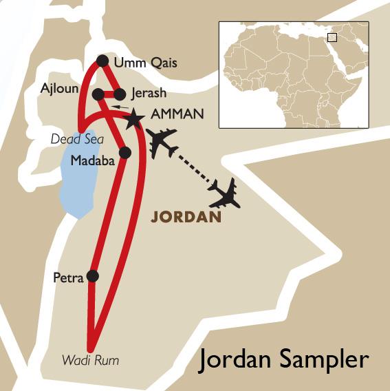Jordan Sampler Special Map